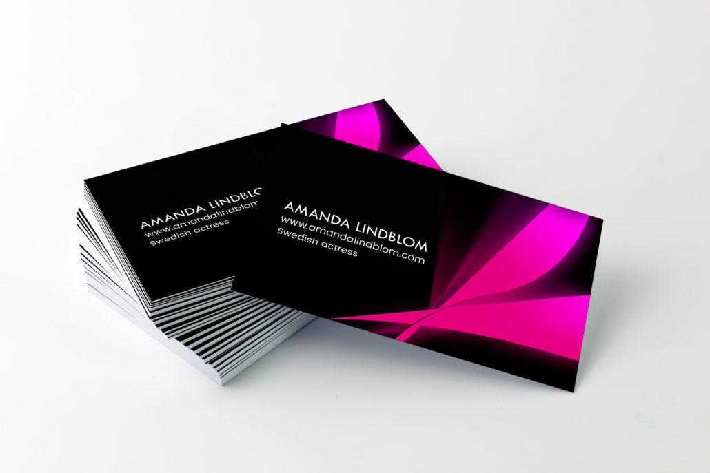 visitkort Amanda Lindblom 3vy Alexa Produktion