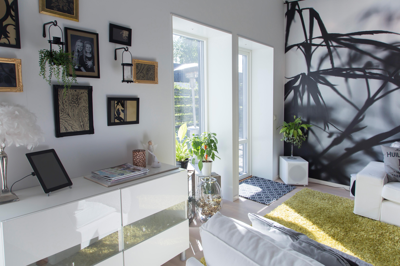 Mälarvillan interiör vardagsrum och inredningsdetaljer Alexa Produktion