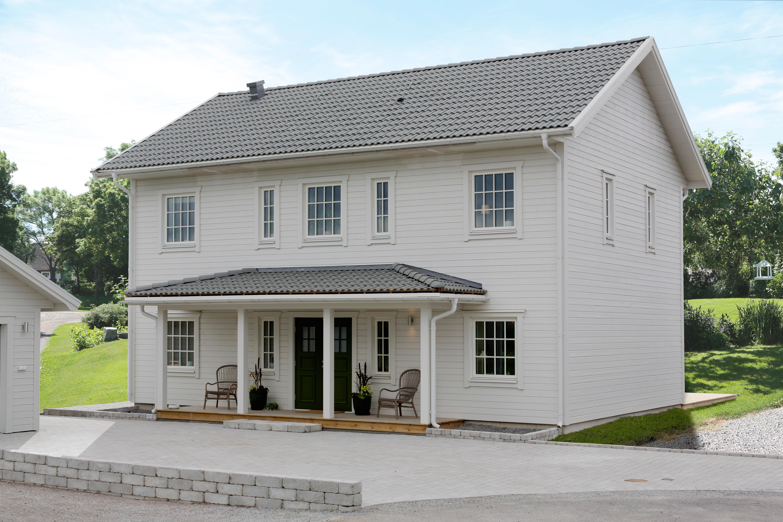 Mälarvillan 2-plans villa New England Alexa Produktion