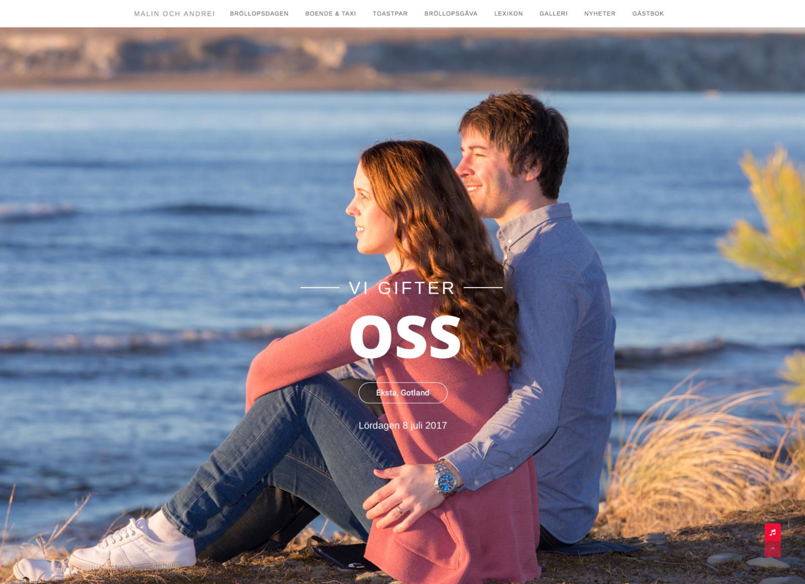 Malin och Andrei hemsida Alexa Produktion