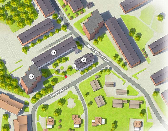 Enköpings Hyresbostäder - Områdestavlor Alexa Produktion