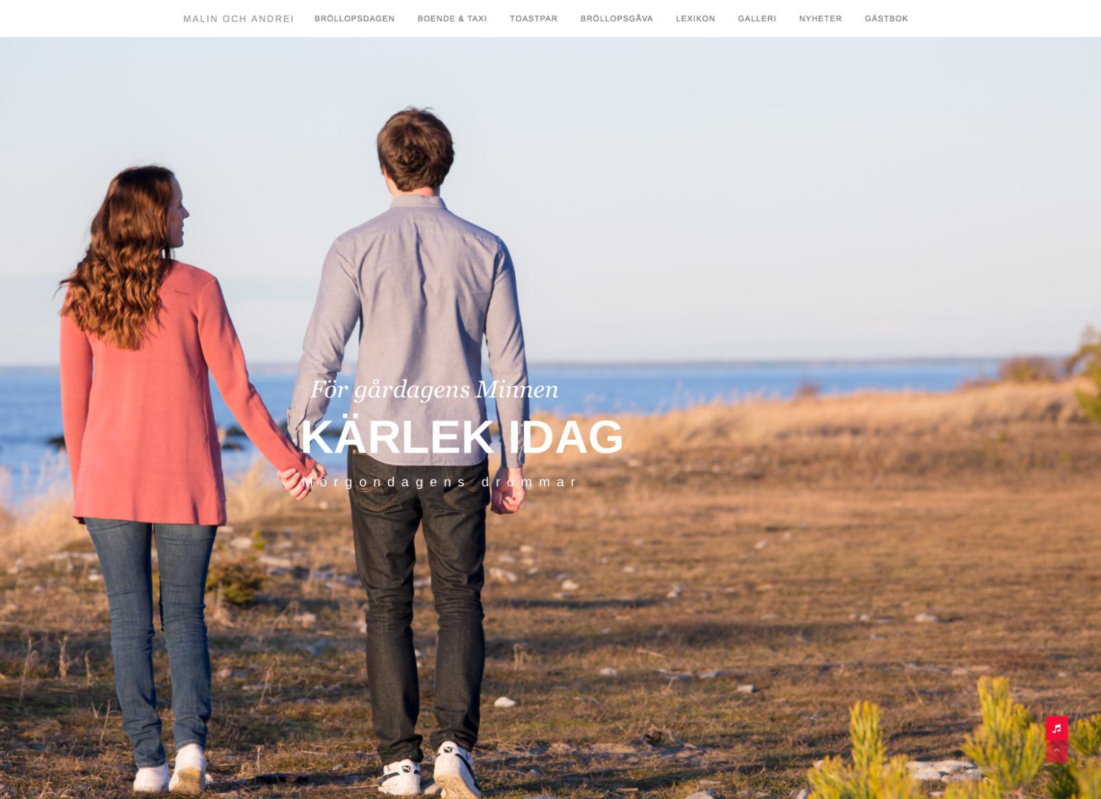 Malin och Andrei hemsida kärlek idag Alexa Produktion