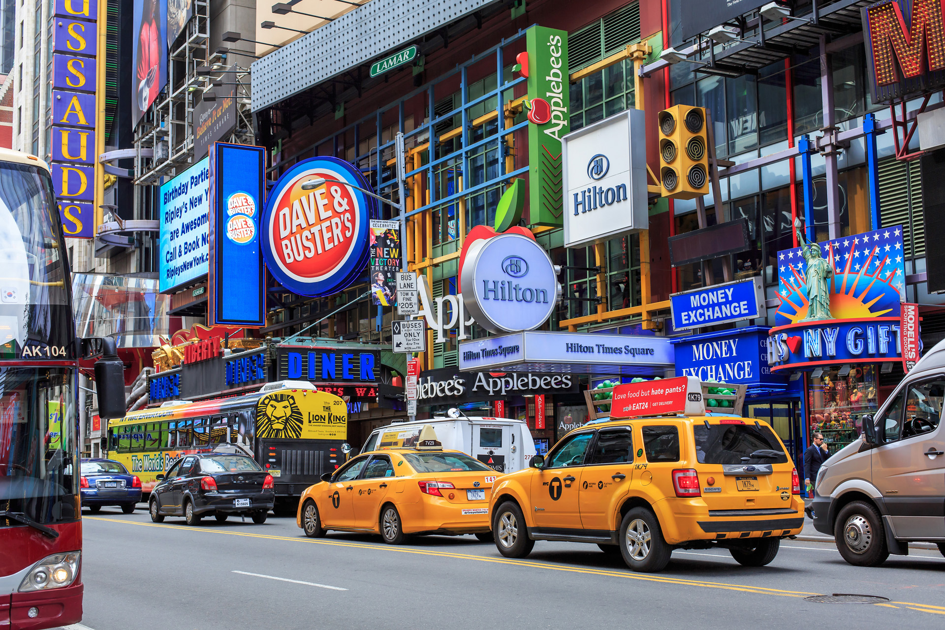 Times Square dagtid New York Alexa Produktion